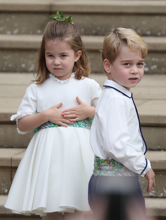 Princess Charlotte & Prince George