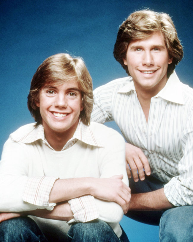 Parker Stevenson and Shaun Cassidy
