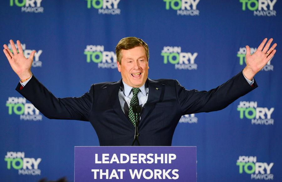 John Tory Celebrates Election