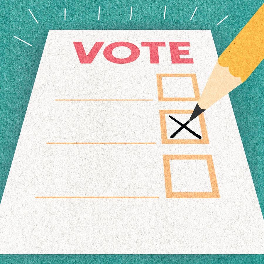 Voters Ballot