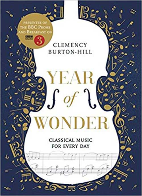 The book cover for Year of Wonder: Classical Music For Everyday.