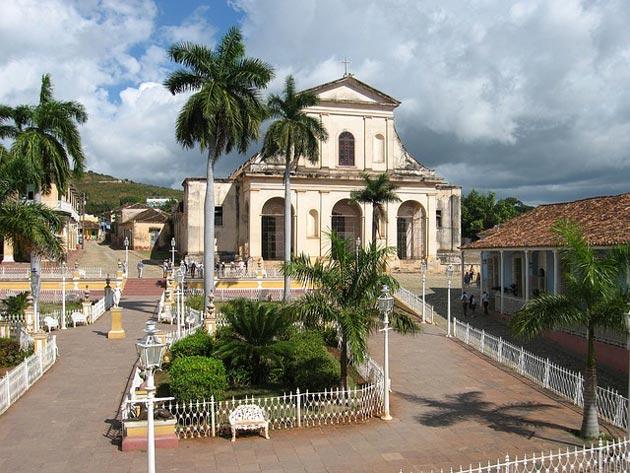 Little Church in Trinidad, Cuba.