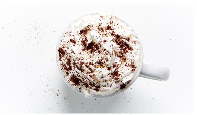 Hot chocolate, sweet and spicy