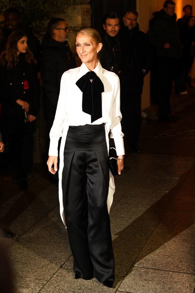 Резултат со слика за selin dion 2019 fashion week paris