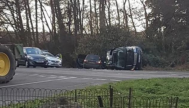 Prince Philip car accident