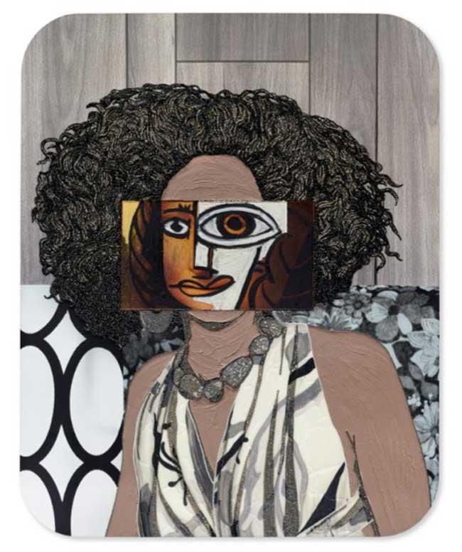 Black Girl Magic Mickalene Thomas Reimagines