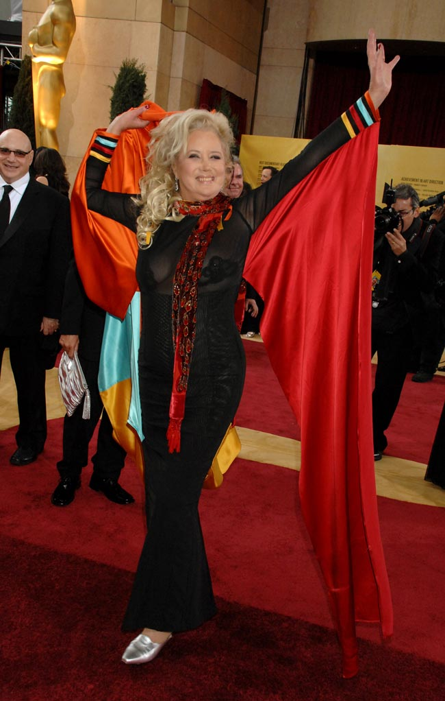 Sally Kirkland during The 79th Annual Academy Awards - Arrivals at Kodak Theatre in Hollywood, California, United States. Photo: Jeff Kravitz/FilmMagic, Inc/Getty Images