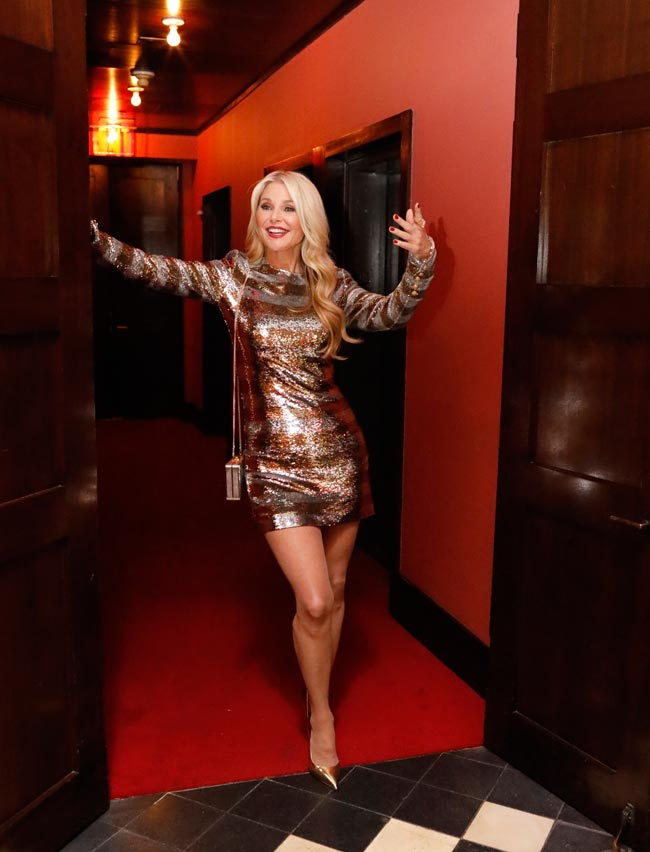 Supermodel Christie Brinkley celebrating her 65th birthday
