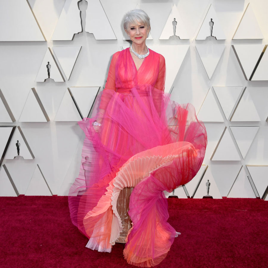 Helen Mirren at 2019 Academy Awards
