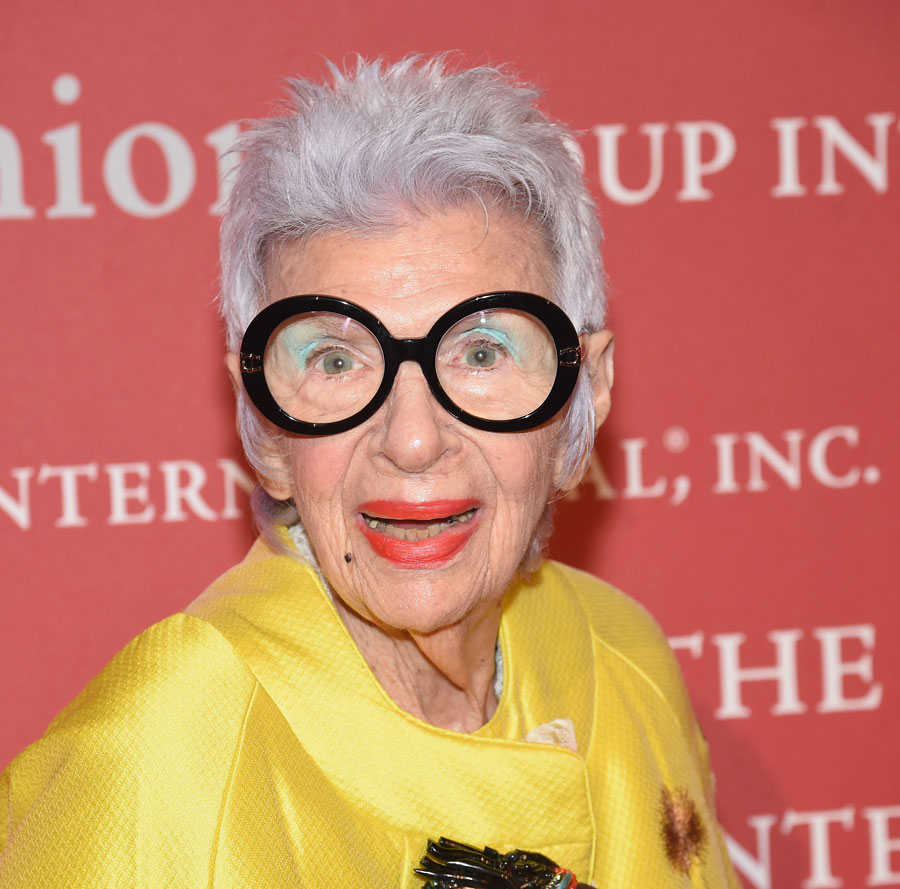 fca17ac838 Style Icon Iris Apfel Gets a Modelling Agent at 97-Years-Young ...