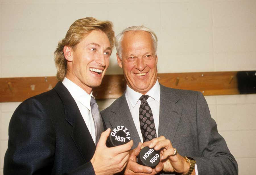 gretzky and howe