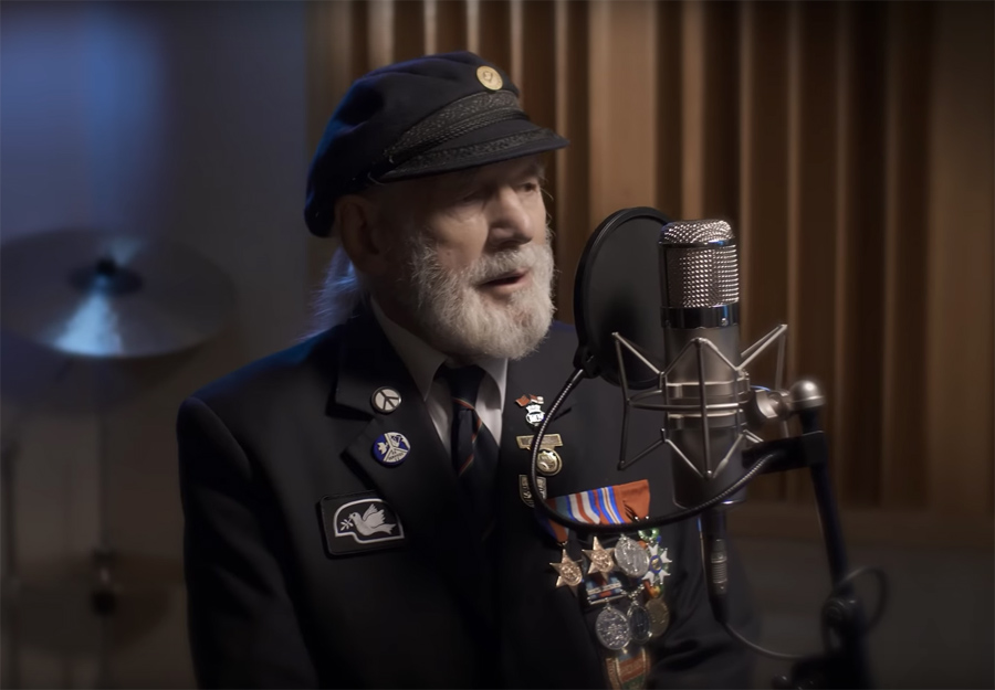 A D-Day veteran's song about the Normandy Invasion
