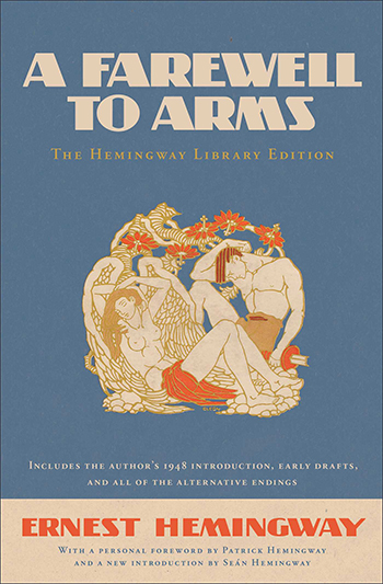 An image of the cover of the book A Farewell To Arms (1929) by Ernest Hemingway.