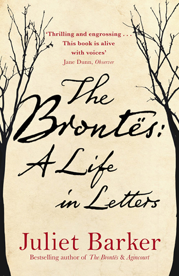 "The cover of ""The Brontës: A Life in Letters."