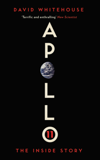 The cover of the book Apollo by David Whitehouse.