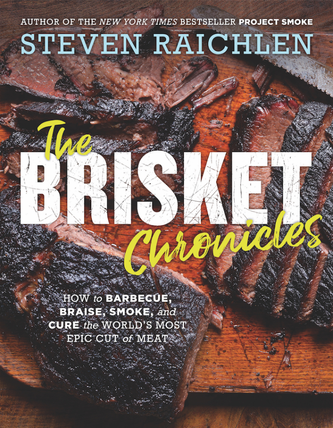 The cover of the Brisket Chronicles by Steven Raichlen.