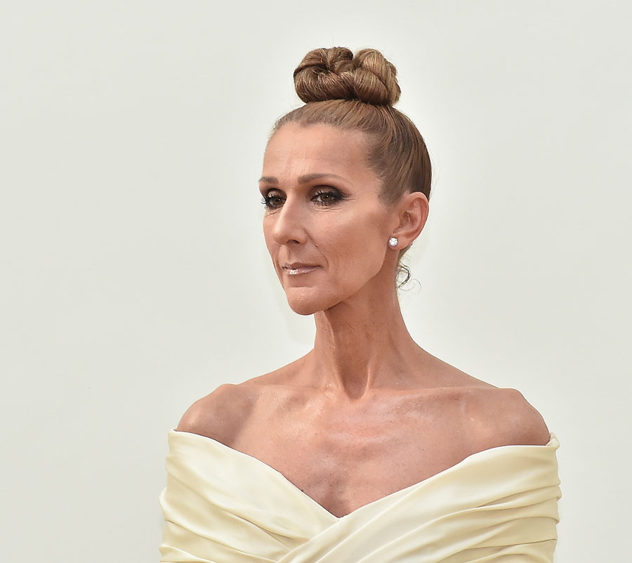 Celine Dion attends the Alexandre Vauthier Haute Couture Fall/Winter 2019 2020 show as part of Paris Fashion Week on July 02, 2019 in Paris, France. (Photo by Dominique Charriau/WireImage)