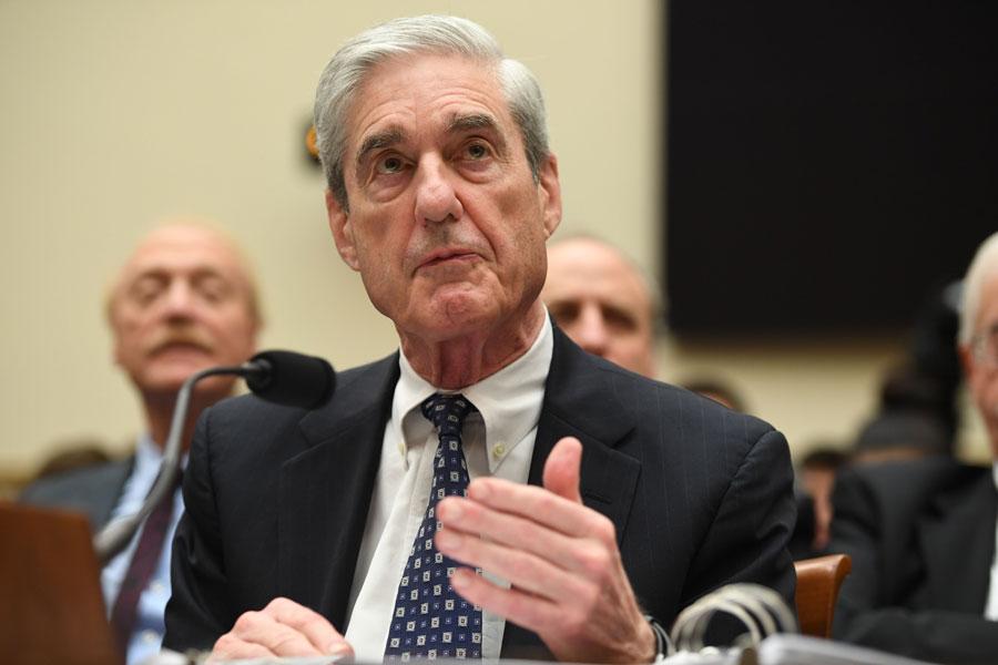 Former Special Prosecutor Robert Mueller testifies before Congress.