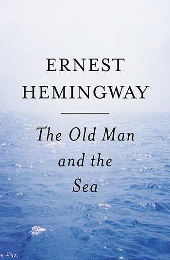 An image of the cover of the book The Old Man and the Sea (1952) by Ernest Hemingway.
