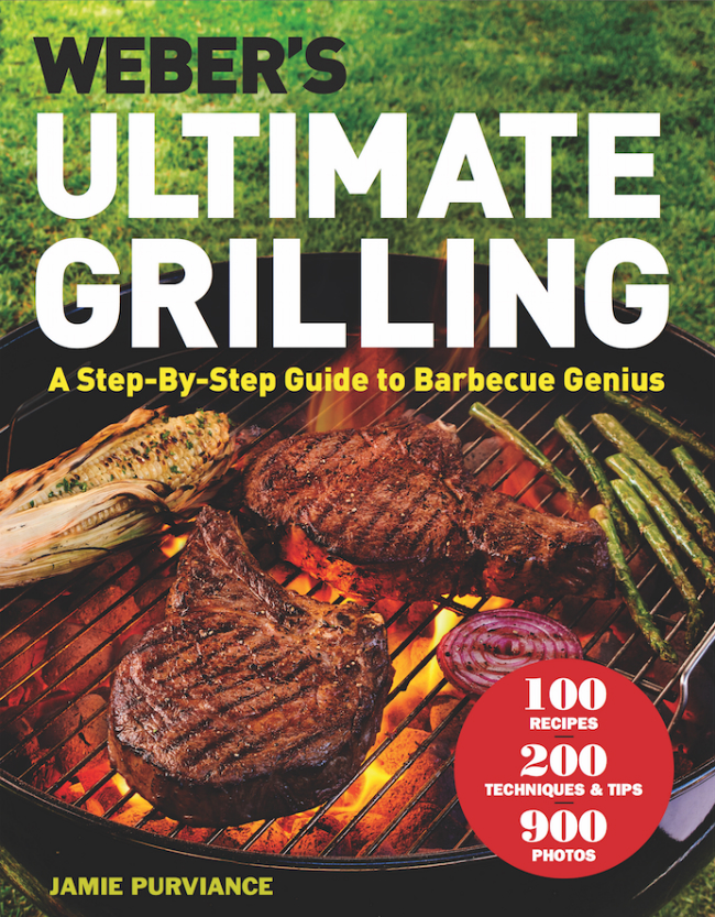 The cover of Ultimate Grilling by Jamie Purviance.