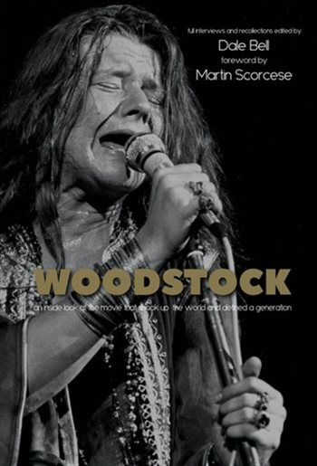 The cover of the book Woodstock by Dale Bell.