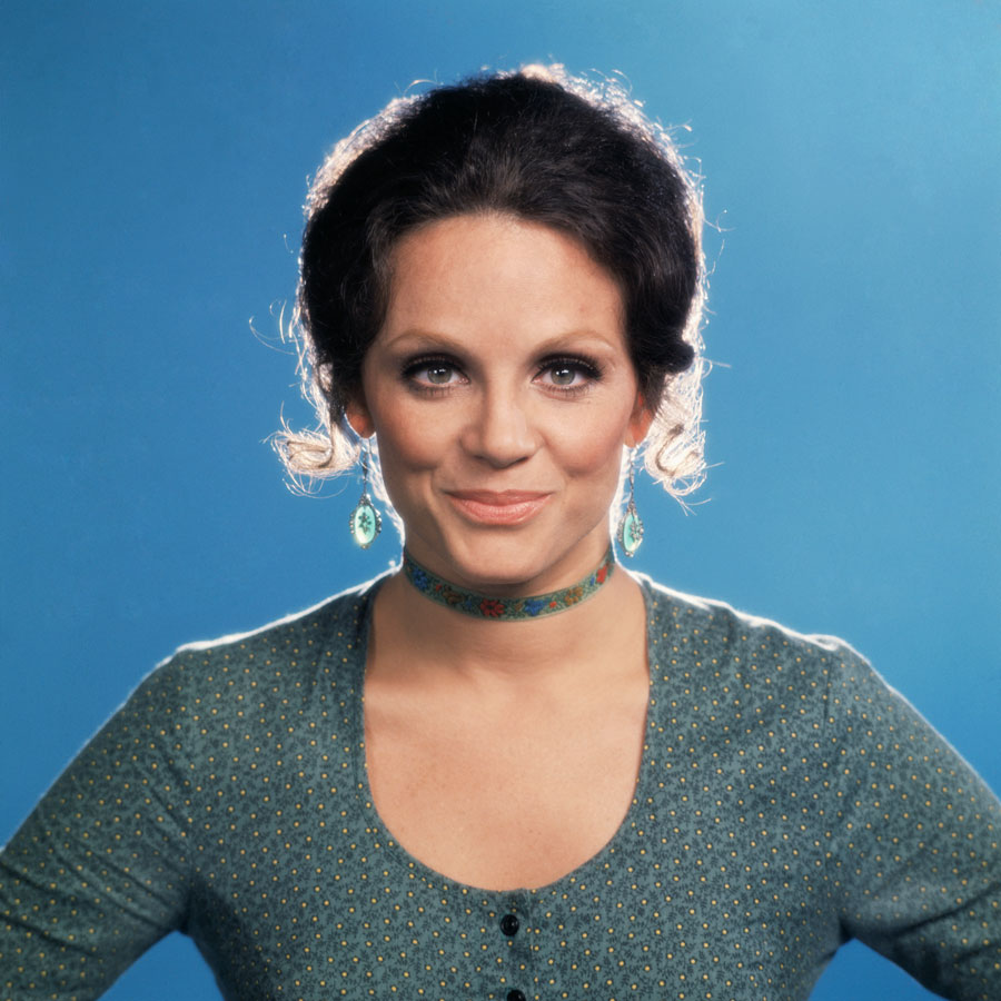Photo of Valerie Harper who played Rhoda on The Mary Tyler Moore Show