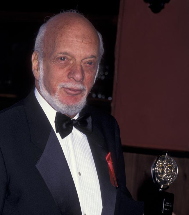 Harold Prince attends the party for 49th Annual Tony Awards on June 4, 1995 at the Minskoff Theater in New York City. (Photo by Ron Galella, Ltd./Ron Galella Collection via Getty Images)