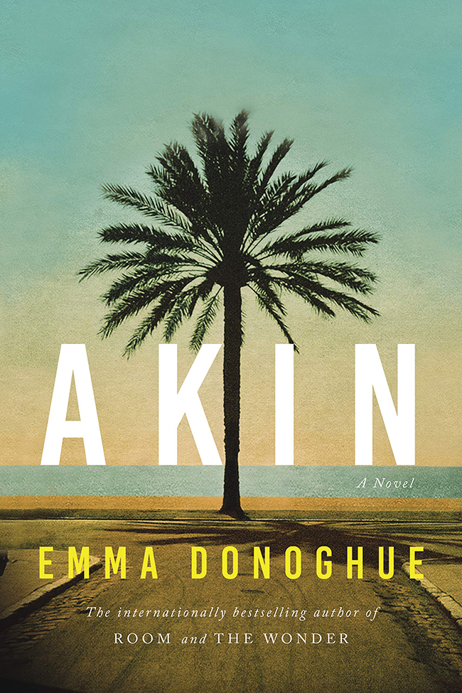 "The cover of the book ""Akin"" by Emma Donoghue."