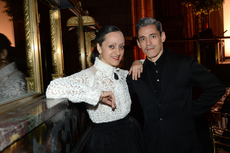 Photo of fashion designer Isabel Toledo