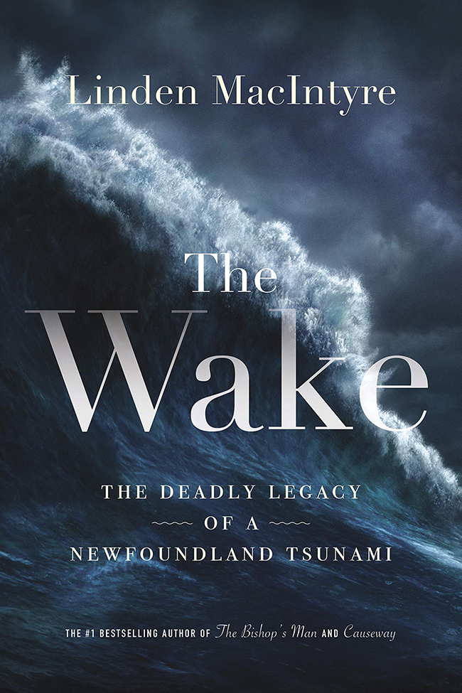 "The cover of the book ""The Wake"" by Linden MacIntyre"