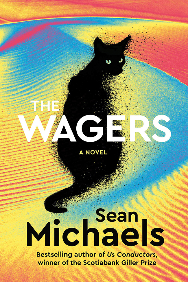 "The cover of the book ""The Wagers"" by Sean Michaels."
