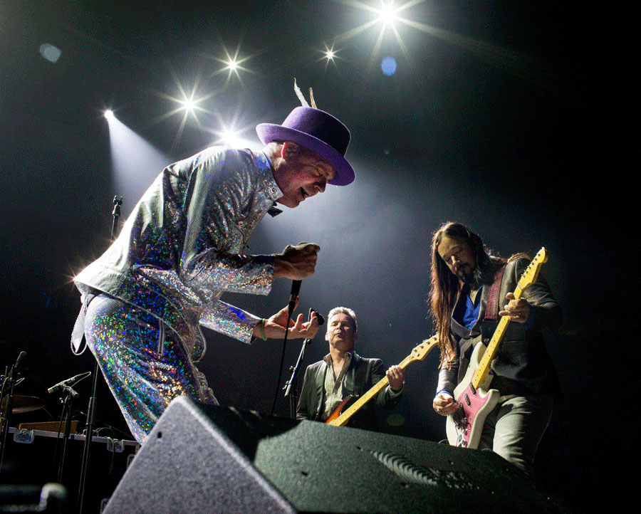 The Tragically Hip performing live.
