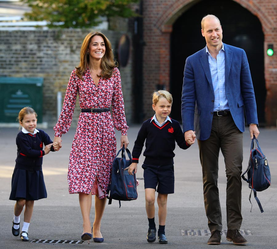 Kate Middleton's mummy makeover: Her new look for the school gates