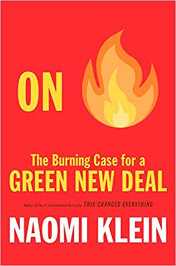 Book cover for The Burning Case for a Green New Deal