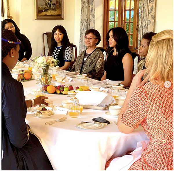 Day 7: Meghan Meets Anti-Apartheid Icon; Harry Lands in Malawi