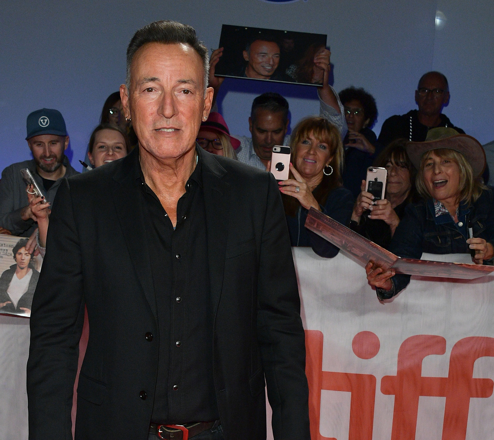 Photo of Bruce Springsteen at TIFF 2019.