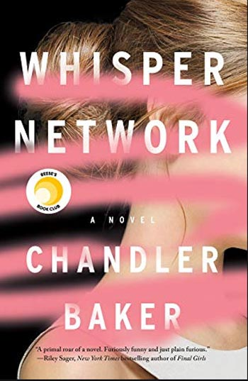 Book cover for Chandler Baker's Whisper Network
