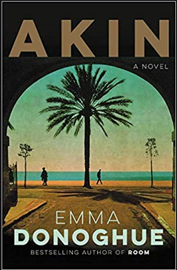 Book cover for Emma Donoghue's Akin