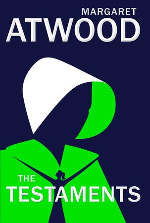 Books cover for Margaret Atwood's novel The Testaments
