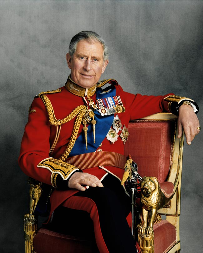 Official portrait of Prince Charles on his 60th birthday