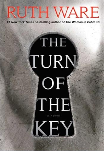 Book cover for Ruth Ware's The Turn of the Key