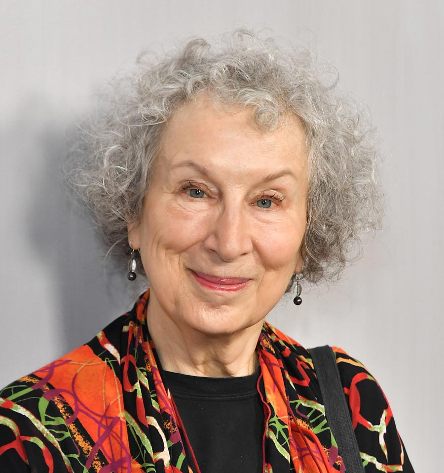 Photo of Canadian author Margaret Atwood