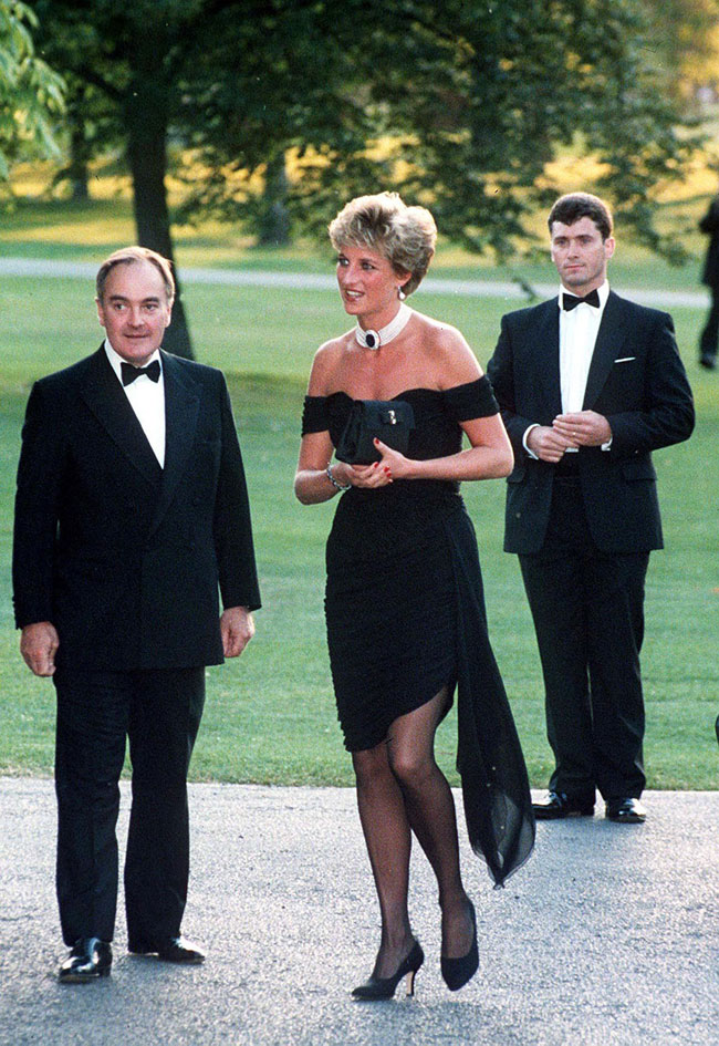 Princess Diana's revenge dress.