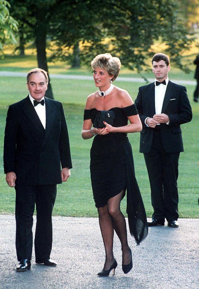 Princess Diana's revenge dress.