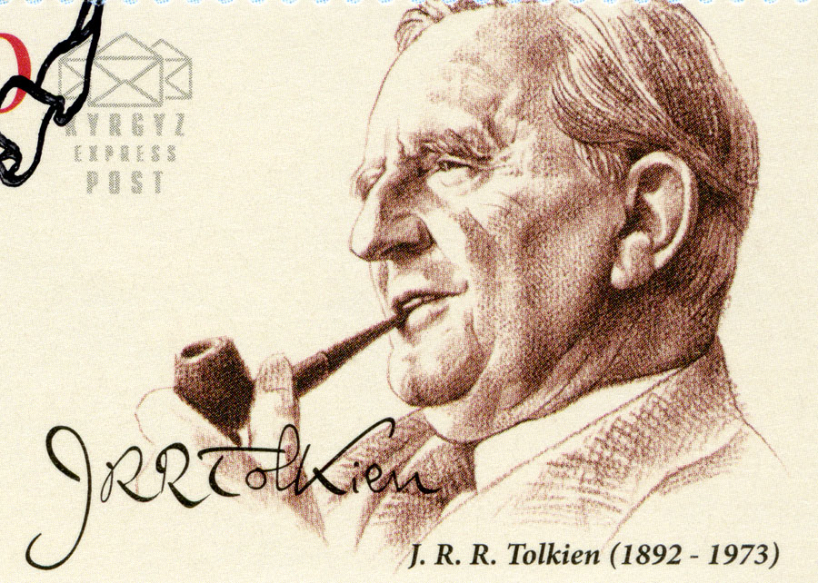 Stamp created in honor of author J.R.R. Tolkien