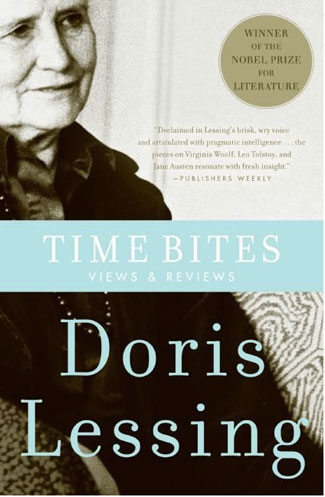 Book cover for Time Bites by Doris Lessing