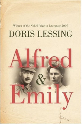 Book cover for Alfred and Emily by Doris Lessing