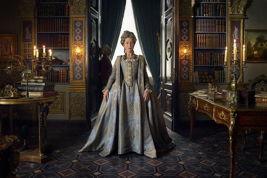 Helen Mirren as Catherine the Great.