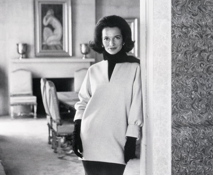 Princess Lee Radziwill was voted one of the World's Best Dressed Women in 1962.