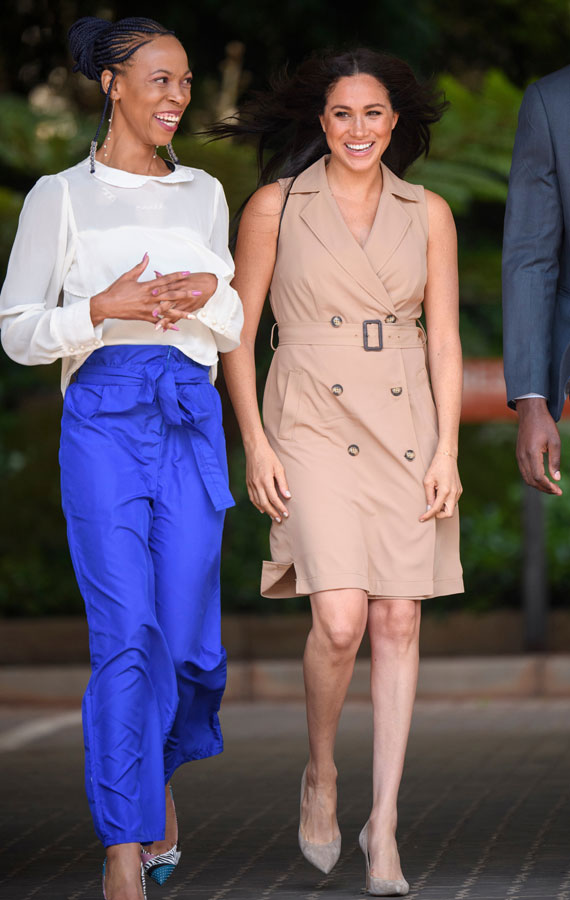 Meghan, Duchess of Sussex, Patron of the Association of Commonwealth Universities (ACU) visits the University of Johannesburg on October 1, 2019 in Johannesburg, South Africa.